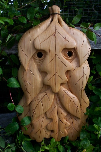 Greenmen Photo 5 - Green Man Mask 1