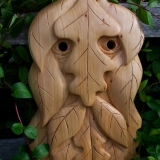 Greenmen Photo 5 - Green Man Mask 1
