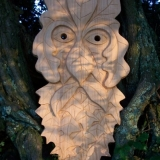 Greenmen Photo 7 - Green Man Mask 2