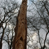 Greenmen Photo 13 - Roedeer Copse Green Man